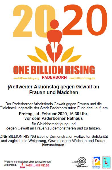 One Billion Rising 2020